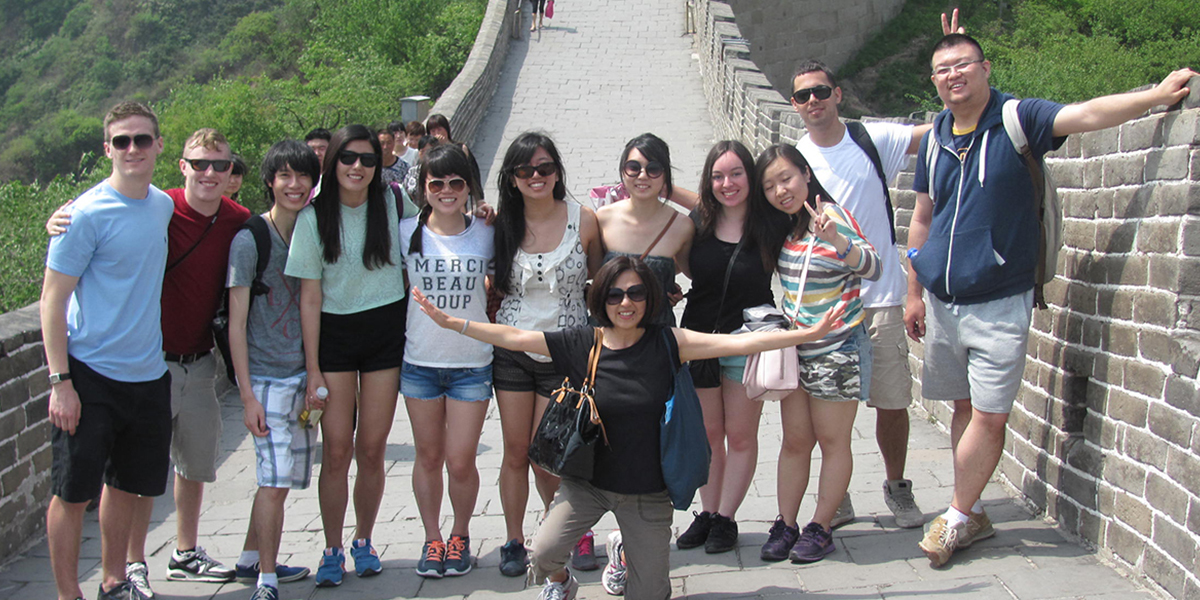 TCM 2014 with me at Great Wall